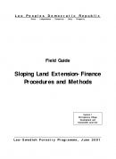 Field Guide   Sloping Land Extension Finance Procedures and Methods