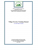 Village Forestry Training Manual