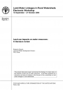 Land Use Impacts on Water Resources: A Literature Review