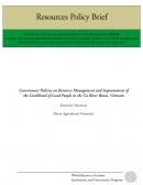 Government Policies on Resource Management and Improvement of the Livelihood of Local People in the Ca River Basin, Vietnam