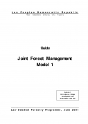 Guide   Joint Forest Management