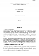 Village Forestry: a Concept Paper