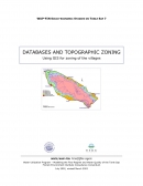 Databases and Topographic Zoning