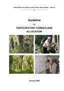 Guideline for Participatory Forestland Allocation