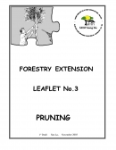 Forestry extension leaflet No