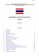 Biodiversity and Protected Areas   Thailand