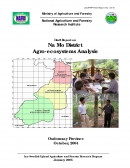 Na Mo District Agro ecosystems Analysis.Draft Report.