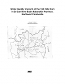 Impact of Yali Falls Dam in Sesan River Basin Rothanakiri Province, Northeast of Cambodia