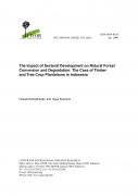 The Impact of Sectoral Development on Natural Forest Conservation and Degradation: The Case of Timber and Tree Crop Plantation in Indonesia