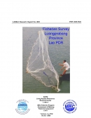 Fisheries Survey Luangprabang Province, Lao PDR