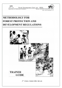 Methodology for Forest Protection and Development Regulation   Trainer Guide2nd Version, October 2004, Dak Lak