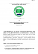 Summary Report, Proposed Socio Economic Policies for Encouraging Local Participation in Plantation and Co Management of Protection Forest in the Proje