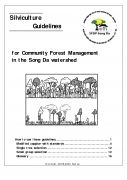 Silviculture guidelines for CFM in Song Da watershed