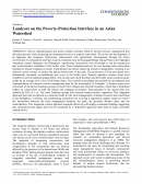 Landcare on the Poverty Protection Interface in an Asian Watershed
