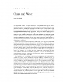 China and Water