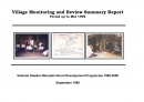 Village Monitoring and Review Summary Report